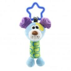 Мягкая подвеска - погремушка Пес Happy Monkey