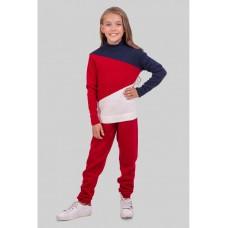 Теплый яркий спортивный костюм для девочки р34-42